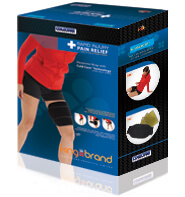 King Brand ColdCure® Leg Wrap Product Box