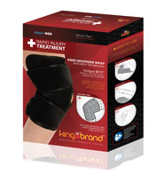 King Brand BFST® Knee Wrap Product Box